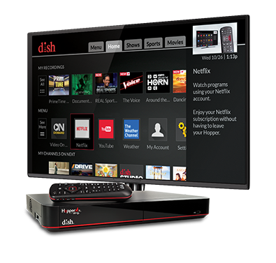 The Hopper - Voice remotes and DVR - Saint Peter, MN - The Dish Doctors Inc. - DISH Authorized Retailer
